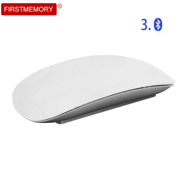 Wireless Bluetooth Mouse Optical Computer Mice Touch Scroll Mouse 1600DPI Magic Ergonomic Mause Ultra Thin For Apple Laptop PC