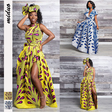 Dashiki African Dresses For Women Clothes Ankara Dress Long Womens 2019