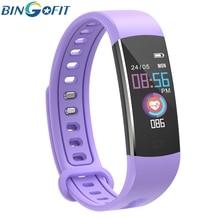 BingoFit Smart Bracelet Multi-sport Fit Tracking Wristband Watch Oxygen Blood Pressure Activity Tracker Kids Watches IP67