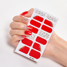 Christmas Dress Up Sticker For Nails Nail Polish Stickers Nail Tape Nail Art Stickers