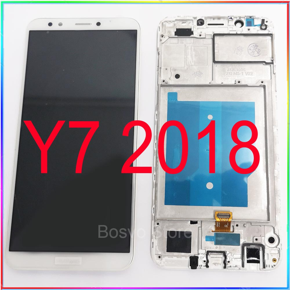 For Huawei Y7 2018 LCD Screen Display Y7 Pro 2018 And Y7 Prime 2018 With Touch Assembly Replacement Repair Parts
