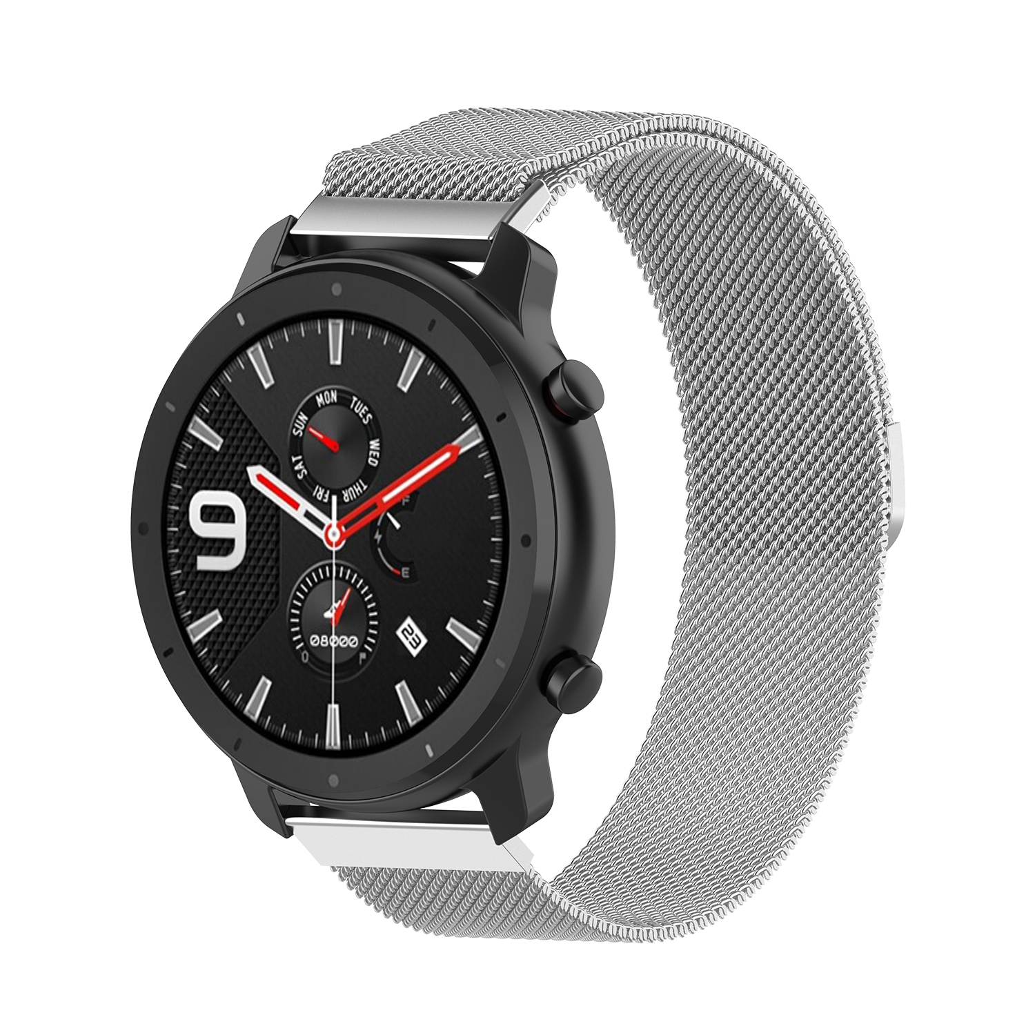 Smart Watch Steel Belt Milan Loop Magnetic Watch Strap 20mm Width For Huami Amazfit GTR 42mm For Samsung For LG For TICWATCH 2