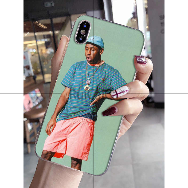 Ruicaica tyler the creator Golf bienen Coque Shell Telefon Fall für iPhone 8 7 6 6S Plus 5 5S SE XR X XS MAX Coque Shell