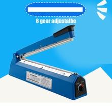 Manual Plastic Film Sealer Machine Heat Impulse Sealer Poly Bag Plastic Film Sealing Machine for Home Kitchen 220V 50Hz 1pc цена