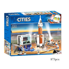 2020 new space exploration lepins city Deep Space Rocket and Launch Control  series building blocks недорого