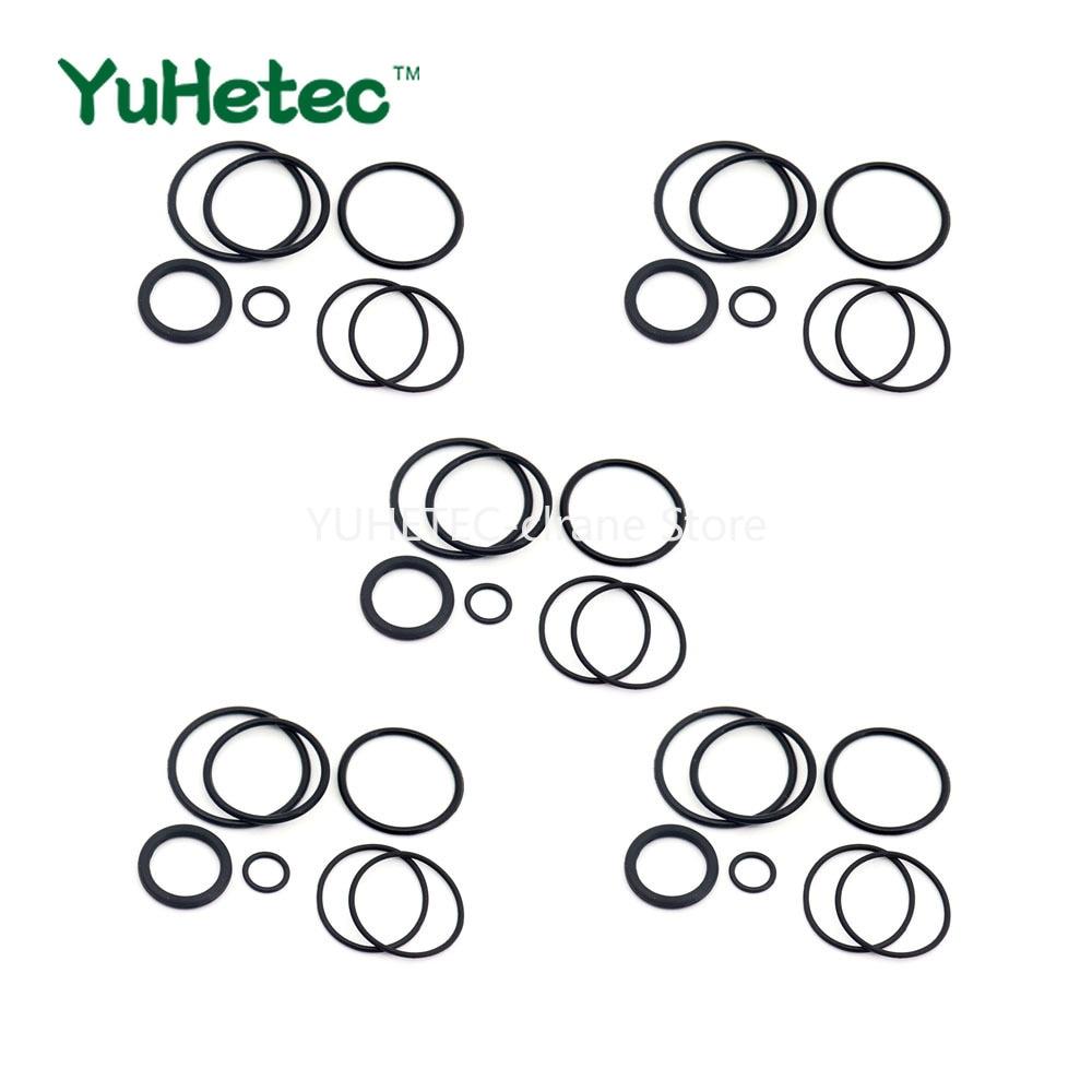5sets YUHETEC Silicone Sealing O-Ring Accessories Bag For Vandy Vape Kylin M RTA Tank Atomizer E-Cig Seal Oring Parts