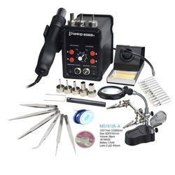 Eruntop 8586 8586+ 8586D паяльная станция, Пистолет-паяльник+нагревательный элемент