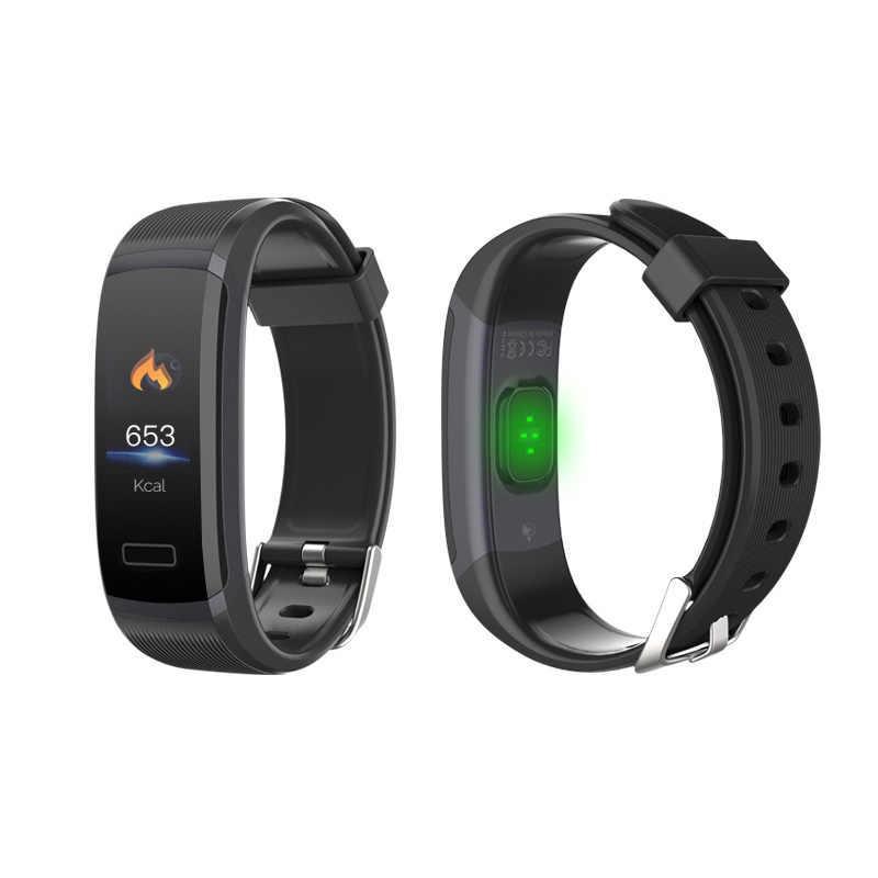 Heiße neue GT101 farbe bildschirm smart armband herz rate sport armband schlaf überwachung schritt wasserdicht