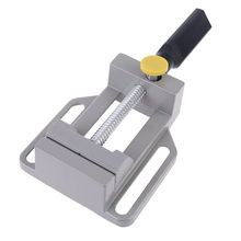 Aluminium Woodworking Angle Clamps 60mm Drill Press Vice Adjustable Table Vise Clamp Woodworking Drill Clamping Tool