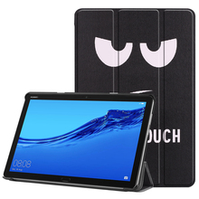 Case for Huawei MediaPad M5 Lite 10 10.1 BAH2-W19/L09/W09 Slim Stand PU Leather Funda Smart Cover for Huawei M5 Lite 10.1 Case цена 2017