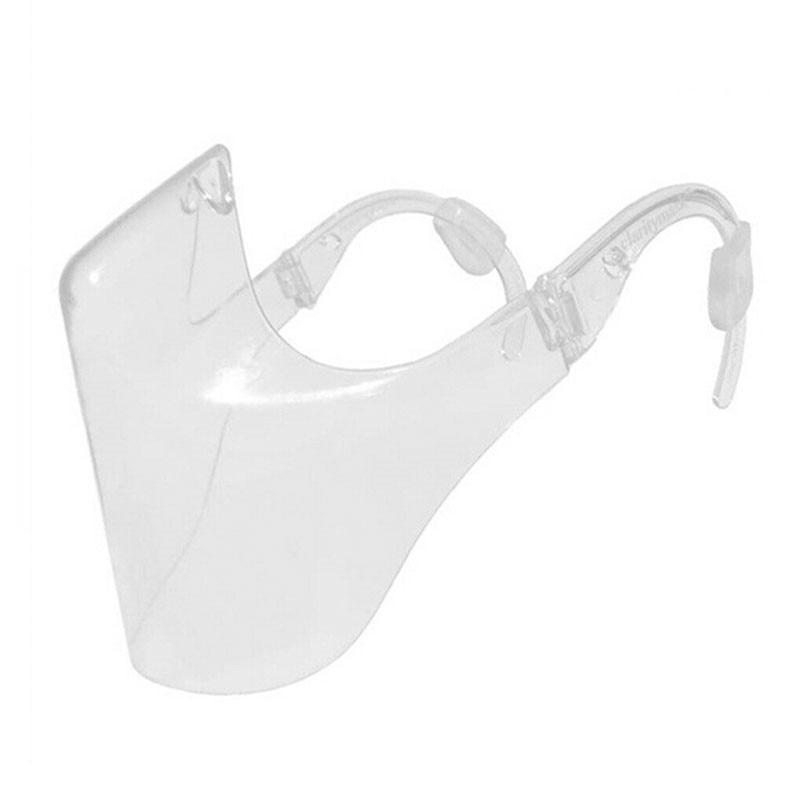1 pcs Transparent Face Shield Protective Clear Face Cover Glasses Visor Anti-Fog