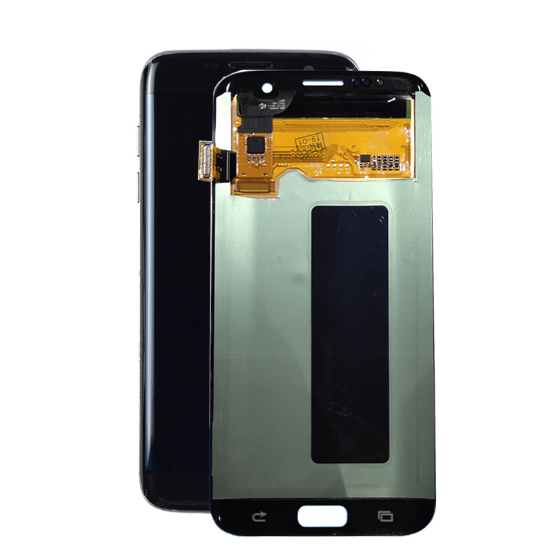 LCD With Dead Spot For Samsung S7 Edge Lcd Screen Touch Digitizer Assembly For Samsung Galaxy S7 Edge G935 Lcd No Frame