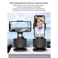 Smart Live Follower Gimbal Bluetooth AI riconoscimento automatico del viso Tracking Shooting Smartphone PTZ supporto per telefono per trasmissione Live