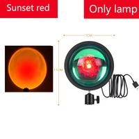 Sunset red Only Lamp