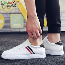 Men Shoes Loafers Fashion Leather Shoes Men Breathable Driving Moccasin Men Soft Comfortable White Black Flats Sneakers Men 2019(China)