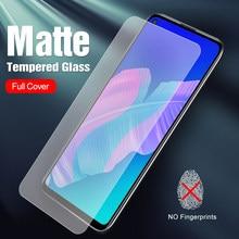 Bezpieczne szkło mróz dla Huawei P40 Lite E matowe szkło na P 40 Lite ochraniacz ekranu Hauwei P40LITE E telefon pokrywa Film Tremp Glas