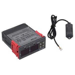 Image 2 - Stc 3028 цифровой измеритель температуры и влажности 110 220 В 10A термостат двойной дисплей термометр контроллер гигрометра Регулируемый 0 ~