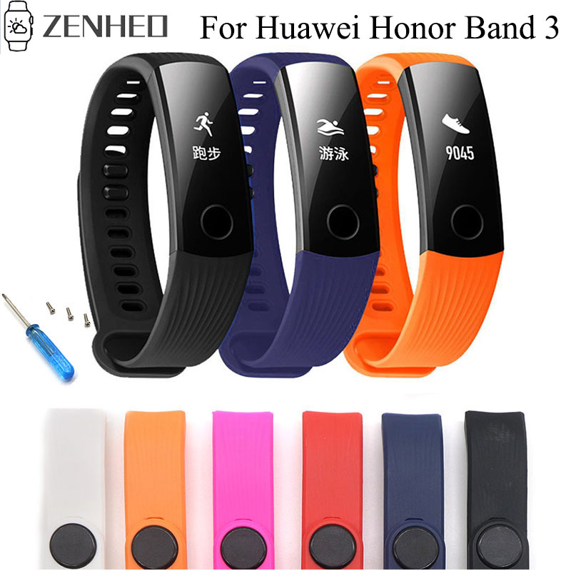 Sports Watchband Strap For Huawei Honor Band 3 Smart Bracelet Fitness Tracker Wristband For Huawei Honor Band 3 Watch Band