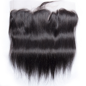 Image 4 - Straight Human Hair Bundles With Frontal Closure Brazilian Hair Weave Bundles With Frontal Closure 100% Human Hair Extensions
