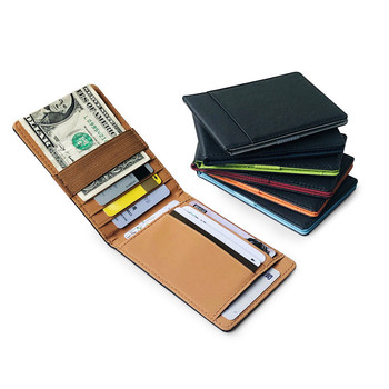 1pcs Pu Leather Card Holder Wallet Coin Purse Card Holder Thin Credit Card Case pu card case