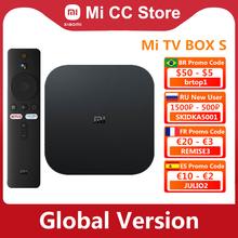 Globale Version Xiaomi Mi TV Box S 4K Ultra HD Android TV 9 0 HDR 2GB 8GB WiFi google Cast Netflix Smart Mi Box S Media Player cheap Kein CN (Herkunft) Cortex-A53 Quad-core 64bit 8 GB eMMC 2G DDR3 802 11 n 2 4 GHz 5 GHz 147g Nein 1x USB 2 0 Android 9 0