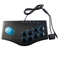 New Retro Arcade Game Rocker Controller Usb Joystick For Ps2/Ps3/Pc/Android Smart Tv Built In Vibrator Eight Direction Joystick(