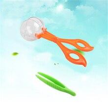 1Set Kunststoff Scissor Clamp Pinzette Outdoor Spielzeug Pflanzen Insekt Biologie Studie Werkzeug Nette Natur Exploration Spielzeug Für Kinder
