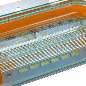 Image 4 - 10 sztuk 12V 24V LED samochodów ciężarówka boczne światła sygnalizacyjne lampy zewnętrzne wskaźnik sygnału lampa ostrzeżenie ogon światło przyczepa ciężarówka autobus łódź