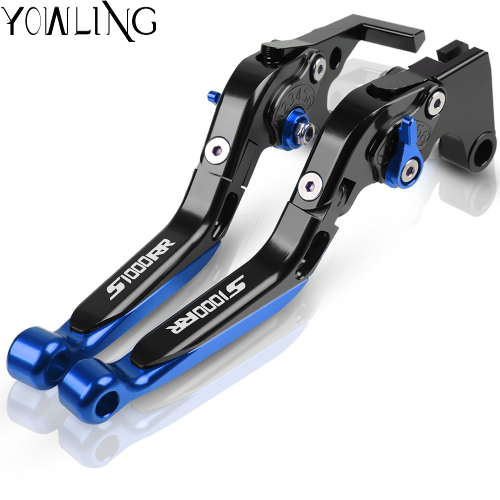 Motorcycle <font><b>Accessories</b></font> Adjustable Handle Levers Brake Clutch Lever For <font><b>BMW</b></font> S1000RR <font><b>S</b></font> <font><b>1000</b></font> <font><b>RR</b></font> S1000 <font><b>RR</b></font> 2010 2011 2012 2013 2014 image