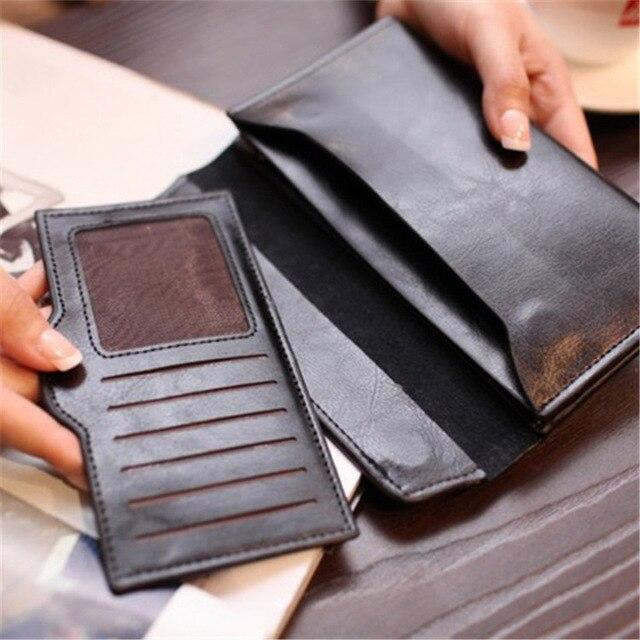 Long Magnetic Buckle Wallet  5