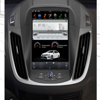 """10.4"""" Tesla Android 9.0 Fit FORD KUGA / Escape/c-max 2013 2014 2015 Second generation Car DVD Player Navigation GPS Radio"""