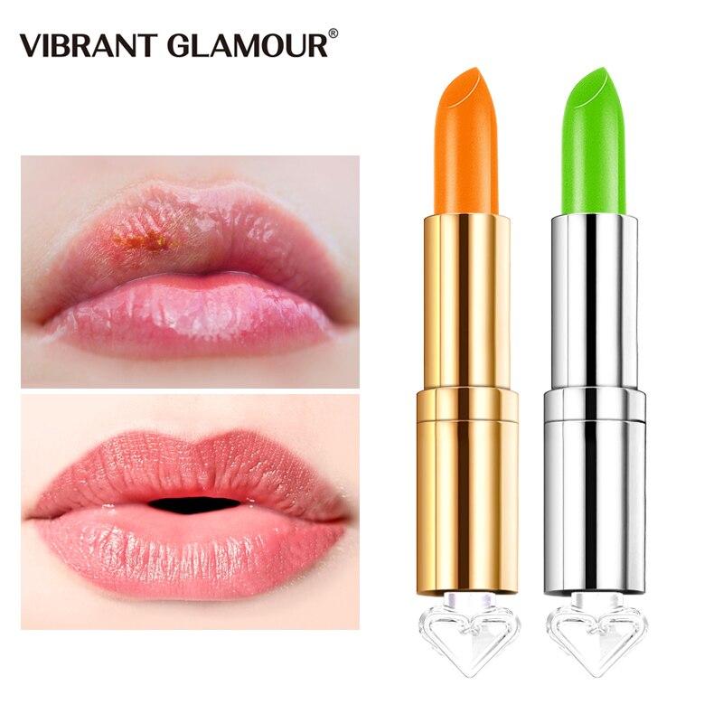 VIBRANT GLAMOUR Chameleon Lipstick Moisturizing Nourishing Honey Lip AVOCADO Prevent Chapped Lighten Lip Line Natural Lip Care