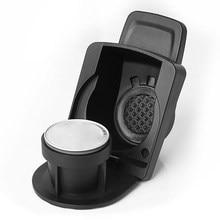 Adaptateur de Conversion de capsules de café pour Nespresso, en acier inoxydable, Compatible avec Dolce Gusto avec anneau de dosage