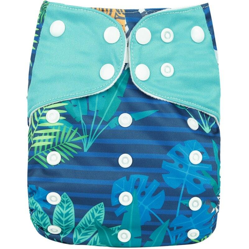 [Simfamily] 1 шт. многоразовые тканевые подгузники, регулируемые детские подгузники, моющиеся подгузники, подходят для 3-15 кг детские подгузники - Цвет: NO27