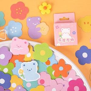 Mokhamm 46 шт., наклейки для украшения цветов и всего, бумага для скрапбукинга, творческие канцелярские товары для школы