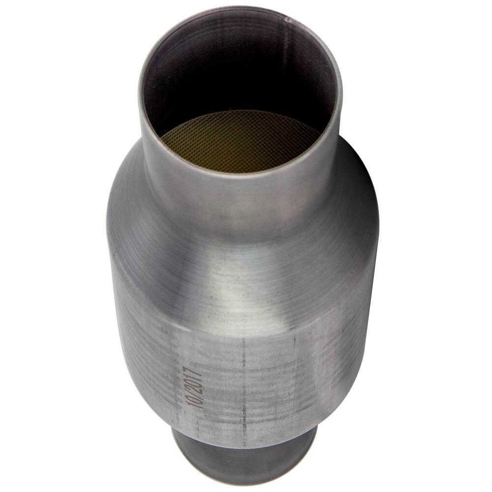 2.5 Inch Bộ Chuyển Đổi Xúc Tác Magnaflow Dòng Chảy Cao T409 Inox 410250 5.9 Gốm-400 Tế Bào