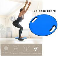 Fitness balance board with handle anti slip balance board yoga fitness coordination training