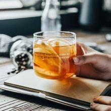 Чашки для кофе и чая стакан воды чашка молока сока десерта прозрачная