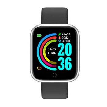 Y68 Smart Watch Men Wristwatches Smartwatch Electronic Clock Fitness Monitor Men Gift Reloj inteligente for Huawei Relogio SB001 5