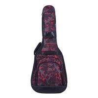 High Quality 42 Acoustic Folk Classical Guitar Bag Case Backpack Adjustable Shoulder Strap 600D Cloth Multiple Pocket