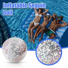 Pool-Toy Swimming-Pool-Play Glitter Inflatable Balls Water-Game Party Sport Beach Confetti