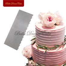 1 шт скребок для торта из нержавеющей стали