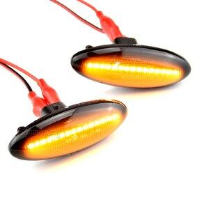 Image 5 - A Pair LED Car Dynamic Side Marker Signal Lamp Turn Signal Light Blinker Light For Toyota Yaris COROLLA Auris Mk1 E15 RAV4 Mk3
