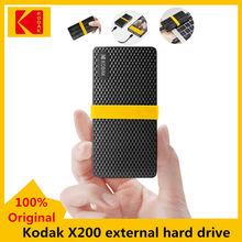 Kodak – Mini disque dur externe SSD X200, usb 3.1, Type c, Gen 2, 1 to, 512 go, 256 go, 128 go, pour ordinateur Portable