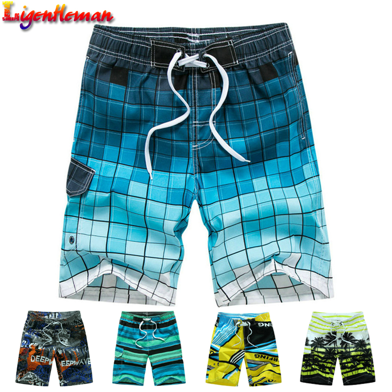 Man Plus Size M-6XL Summer Style 2019 Hot Men Shorts Beach Short Breathable Quick Dry Loose Casual Hawaii Printing Shorts