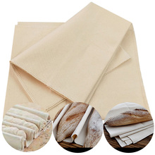 Льняная Ферментированная ткань тесто пекари сковородки для хлеба багет льняная ткань коврик для выпечки кондитерские изделия кухонные инструменты