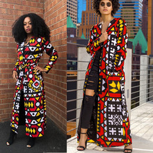 Women Sexy V Neck Trench Coat Long Sleeve Cardigan Elegant Vintage Coats With Sashes 2021 Designer Windbreaker Korean Style Top