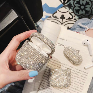 Image 3 - Luxury Earphone Cases For Apple AirPods Pro 2 1 Cute Case For AirPod Air Pods Pro 2 3 Bling Diamond Hard Shell Protective Cover