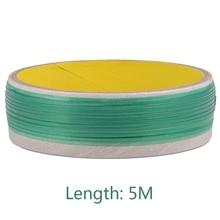 5M PVC Car Wrap Knifeless Tape Design Line Car Stickers Cutting Tool Vinyl Film Wrapping Cut Tape Auto Accessories