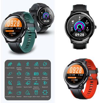 Kospet Probe Bluetooth Smart Watch Bracelet Fitness Tracker Wrist Heart Rate Monitor Waterproof Sport Watch For Android iOS
